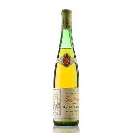 レオン ベイエ トカイ ダルザス ヴァンダンジュ タルディヴ 1976 700ml ラベル不良 フランス アルザス 白ワインSALE★特別価格