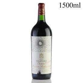 2002 シャトー・ムートン・ロートシルト マグナム 1500ml 【木箱入り】※ラベル不良フランス / ボルドー / 赤ワイン