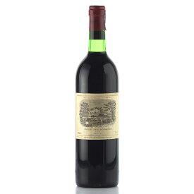 シャトー ラフィット ロートシルト 1977 ロスチャイルド フランス ボルドー 赤ワイン[のこり1本]