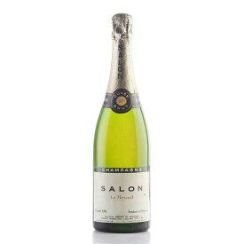 サロン ブランドブラン 1971 ラベル不良 ブラン ド ブラン シャンパン シャンパーニュ[のこり1本]