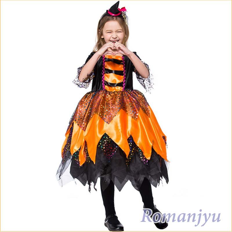 ハロウィン 衣装 子供 魔女 コスプレ衣装 コウモリ 魔女 悪魔 魔法 巫女 小魔女 子供用 女の子 コスチューム ハロウィン仮装 魔法使い 魔法師 キッズ ハロウィン キッズ衣装 子供 仮装 子ども 子ども用