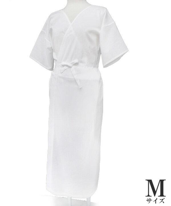 夏 和装下着 スリップ 浴衣下 高島クレープ 高島ちぢみ 日本製 インナー 着物スリップ 綿100% 白 Mサイズ W3493 m802