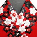 振袖 半衿 半襟 日本製 梅詰め 刺繍半襟 振袖小物 赤 新品 品番 03501366 梅詰め NO,4 h705r