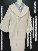 和装レンタルコート貸衣装防寒レディース女性日本製アルパカ混フォーマルカジュアルベージュ全国往復送料無料フリーサイズco0233r