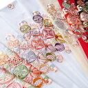 半襟 刺繍 半衿 振袖 成人式 毬 ツーポイント 花 日本製 レディース 卒業式 袴姿 フォーマル シルエリー 送料無料 Ko2…