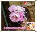 造花の髪飾り(髪かざり) 結婚式 ウェディング ブライダルに。結婚祝い 誕生日のプレゼント ギフトに。可愛いいシルクフラワーのヘアアクセサリー(ヘッドドレス ヘ...