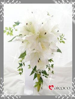 有供kyasukedobuke+腦袋禮服(3分)+新郎使用的引導裝入程序附近花束/婚禮花束/新娘花束/絲綢花花束頭飾的引導裝入程序附近有