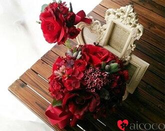花束/婚禮花束/新娘花束/絲綢花花束