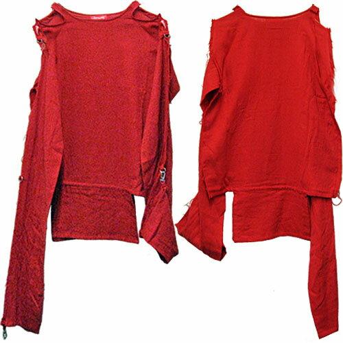ROMANTIC NEUROSIS Muslin Top Reissue モスリン W ガーゼシャツ RED【RCP】【ロマンチックノイローゼ 楽天市場店】