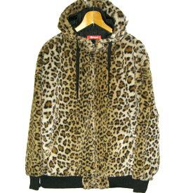 ROMANTIC NEUROSIS Leopard Faux Fur Hooded Jacket ロマンチックノイローゼ 豹柄 ファー ジャケット パーカー フード グラデ【パンク】【PUNK】【ロマンチックノイローゼ 楽天市場店】