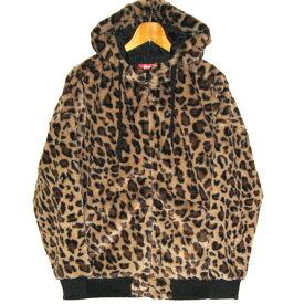 ROMANTIC NEUROSIS Leopard Faux Fur Hooded Jacket ロマンチックノイローゼ 豹柄 ファー ジャケット パーカー フード【パンク】【PUNK】【ロマンチックノイローゼ 楽天市場店】