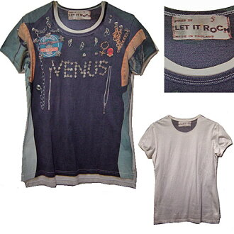 Vivienne Westwood VENUS/LET IT ROCK T-Shirt维维恩维斯特伍德VENUS誊写T恤
