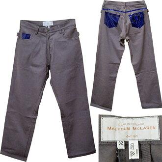 瑪律科姆 · 麥克拉倫塑膠口袋褲子瑪律科姆 · 麥克拉倫塑膠 (乙烯基) 口袋褲