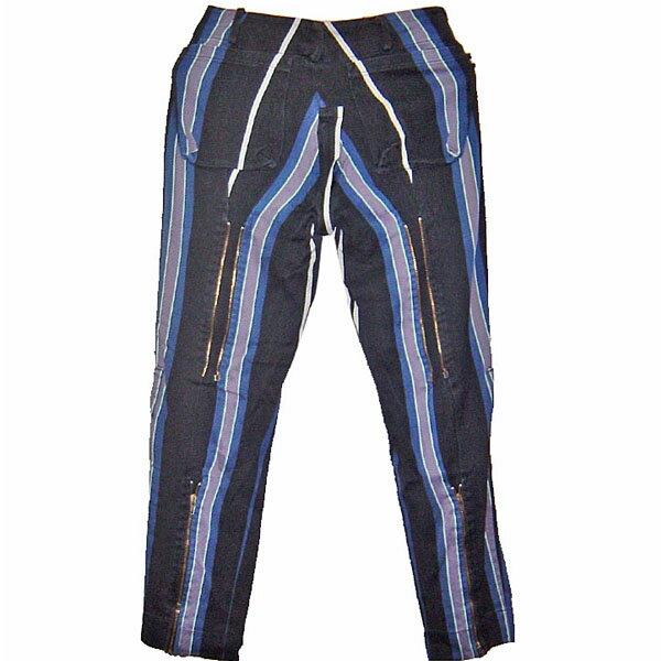 Vivienne Westwood GOLD LABEL Bondage Trousers ヴィヴィアン ウエストウッド ボンテージ(ボンデージ・ボンデッジ) パンツ ストライプ【中古】【RCP】【ロマンチックノイローゼ 楽天市場店】