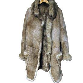 Vivienne Westwood Sheep Shearling Coat Mouton SheepSkin ヴィヴィアン ウエストウッド ムートン コート リアル ファー 毛皮 本革 本皮【中古】【パンク】【PUNK】【ロマンチックノイローゼ 楽天市場店】