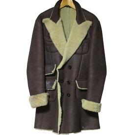 Vivienne Westwood MAN Mouton Coat ヴィン ウエストウッド マン 本革 シープスキン ムートン コート【中古】【パンク】【PUNK】【ロマンチックノイローゼ 楽天市場店】