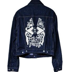 Vivienne Westwood Anglomania Punk Hell Denim Jacket ヴィヴィアン ウエストウッド アングロマニア アナーキー デニム Gジャン ジャケット【中古】【パンク】【PUNK】【ロマンチックノイローゼ 楽天市場店】