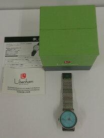 【中古】Libenham Landschaft SMALL MESH LH90033 リベンハム ラントシャフト メッシュベルト 腕時計 ウォッチ 自動巻き 防水機能5ATM メンズ レディース