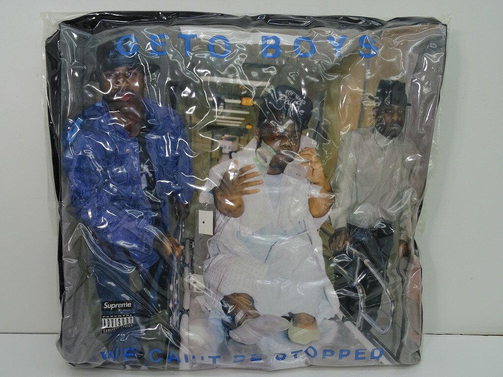 【未使用半タグ付き】Supreme シュプリーム 17SS Rap-A-Lot Records Geto Boys Pillow BLACK クッション/まくら/枕 WE CAN'T BE STOPPED 【中古】【その他アクセ雑貨】【金沢本店 併売品】【8300141Kz】
