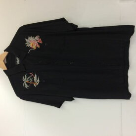 【中古】Schott ボーリングシャツ 半袖シャツ【サイズ L】