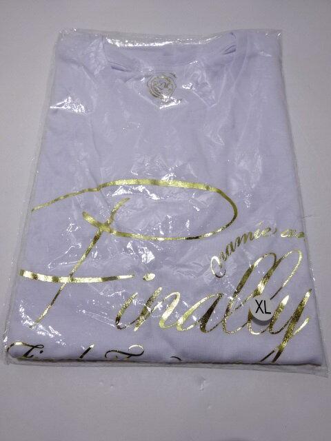 未開封 安室奈美恵 Finally ワンピースコラボTシャツ XLサイズ ホワイト NAMIE AMURO×ONE PIECE 【中古】【アイドル】【金沢本店 専売品】【4200536Kz】