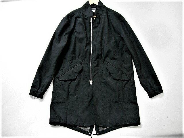 値下げしました! nonnative ノンネイティブ 15SS GORETEX traveler coat SIZE:1 ゴアテックス コート スタンドカラー フィッシュテール ロング丈 モッズコート ブラック 止水テープ トラベラー