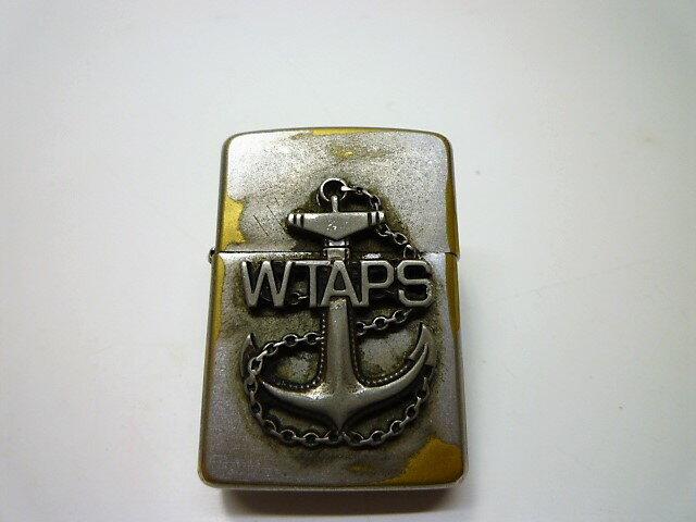 値下げしました  WTAPS ダブルタップス 08AW ZIPPO イカリ USED加工 保存袋付き