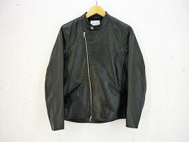 STILL by HAND 18AW ダブルレザーライダースジャケット size:46 スティルバイハンド カウレザー 牛革 ブラック