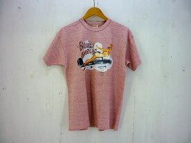"""Mccoy's SPORTWEAR  """"BRINEY MARLIN"""" ガールプリントTシャツ size:L リアルマッコイズ ピンク タグ付き"""