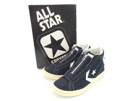 CONVERSE ALL STAR × nonnative 32756315 PRO-LEATHER HI size:25.5cm コンバース オールスター ノンネイティブ コラボ プロ レザー ハイ スニーカー シューズ 靴 ネイビー