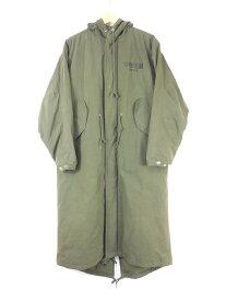 【値下げしました】BAGARCH 17AW LONG MODS COAT size:M バガーチ ロングモッズコート アウター オリーブ BH-1049