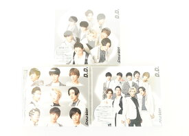 Snow Man vs SixTONES D.D. / Imitation Rain 通常盤 + Snow Man仕様 初回盤 + Snow Man仕様 with SixTONES盤 3種 セット 【CD】 【未開封】