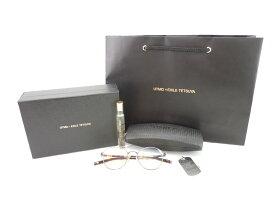 UTMO × EXILE TETSUYA メガネ 眼鏡 コラボ アンティークブラウン UM-218A フレグランス付き 和真メガネ