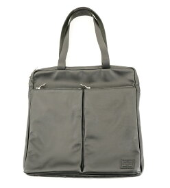 PORTER BRING LEATHER TOTE BAG ポーター ブリング レザー トートバッグ ハンドバッグ 牛革 ブラック Made in Japan