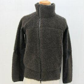 REMI RELIEF レミレリーフ ウールボアジャケット size:S ブラウン 切替 カモフラ