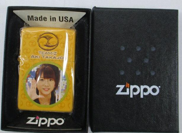 Zippo ジッポーぱちんこAKB 高城亜樹 TEAM-Z 未使用 2011年製