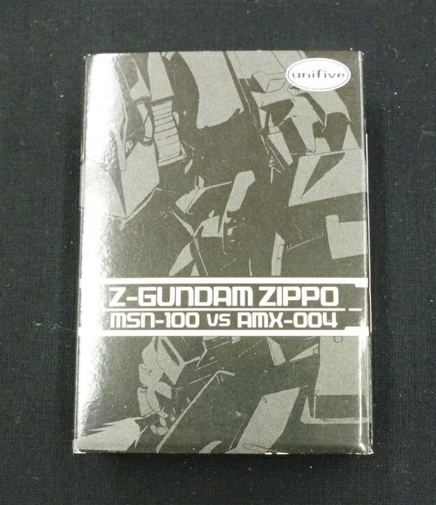 Zippo ジッポー Zガンダム MSN-100 VS AMX-004