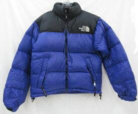 THE NORTH FACE/ノースフェイスダウンジャケット ヌプシ 90S オールドヌプシ 90年代SIZE:S ブラック×ブルー