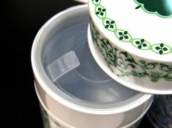 ロンネフェルト茶葉保存缶素敵な保存缶デュールグリーン