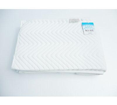 【送料無料】高級ホテル用ベッドパットワイドシングルサイズ(110x200)センチ