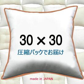 ヌードクッション 30×30cmクッション本体 クッション中身クッション中材 Pillow Insertクッションカバー用本体 Cushion 30x30