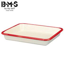 富士ホーロー B-M-S ビームス ホーローバット M(21取) BM-M NR ニューレッド