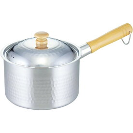 【エントリーでポイント5倍!】下村企販 プロモデル槌目深型片手鍋18cm 34490