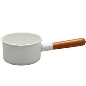 【あす楽】野田琺瑯 POCHKA ポーチカ ミルクパン 12cm PO-12M ホワイト