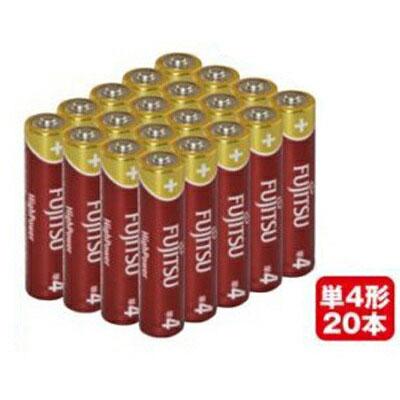FUJITSU 富士通 アルカリ乾電池20本 単4形LR03FH20P
