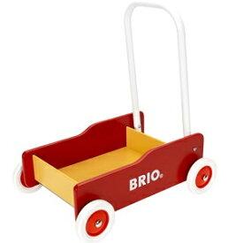 BRIO ブリオ よちよち歩き 手押し車 赤 31350