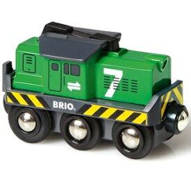【あす楽】BRIO ブリオ レールウェイ バッテリーパワー貨物輸送エンジン 33214