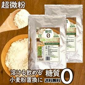 おからパウダー 糖質ゼロ 500g×2袋 超微粉 送料無料 奇跡のおから 糖質制限 糖質オフ ローカボ 食物繊維 置き換え 国内 京都 加工 おやつ パン お菓子 作り