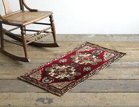【ヴィンテージラグ】【中古】 Turkish Carpet オールド トルコ絨毯 No.12