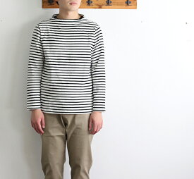 86b15a91d01ed SALE20%OFF // nisica ニシカ ガンジーネックカットソー ボーダー